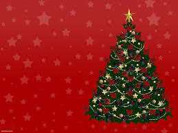free new year christmas tree backgrounds for powerpoint holiday