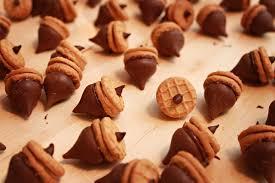 thanksgiving diy acorn treats mojosavings