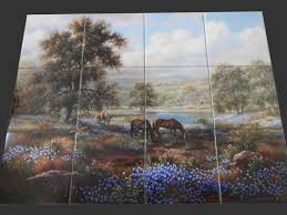 themed tiles 63 best roosters hens farm yard tile murals images on