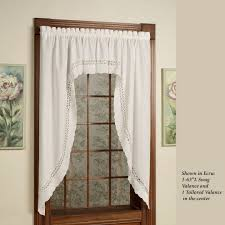 Jcpenney Swag Curtains Jcpenney Valances How To Hang Swag Curtains With Knots At Corners