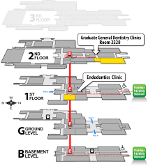 Floor Plan Dental Clinic by Graduate General Dentistry Clinic University Of Michigan