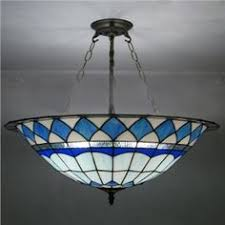 stained glass ceiling light fixtures blue leaf stained glass 3 light 20 inch bronze finished tiffany