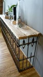 Ideas For Sofa Tables Decorating With Architectural Salvage 25 Ideas For High End