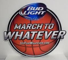 bud light tin signs bud light march madness basketball beer bar tin tacker sign