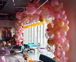 Wall Decoration With Balloons by Balloon Walls Ceilings