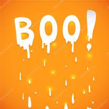 halloween orange background happy halloween orange background with text boo vector u2014 stock