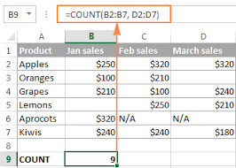 Microsoft Excel Sle Spreadsheets by Excel Count And Counta Functions With Formula Exles