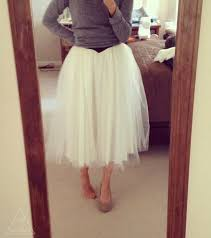 how to make tulle skirt diy tulle skirt refashion