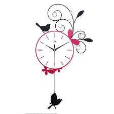 pendule cuisine mignon pendule murale décoratif cuisine oiseau horloge