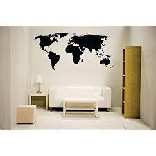 World Map Wall Decor Amazon