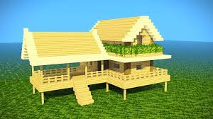 build a house minecraft starter house tutorial how to build a house in
