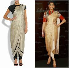 How To Draping How To Wear Saree In Dhoti Style Indo Western Half Saree Pant