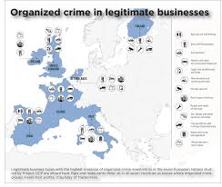 Chicago Gang Maps by Organized Crime In Europe A Country By Country Breakdown The