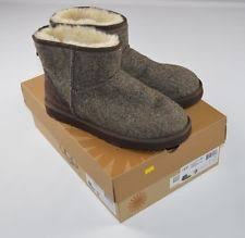 ugg s adirondack tweed boots white ugg australia ankle boots s footwear ebay