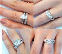 wedding band with engagement ring tips for pairing your three engagement ring with a wedding