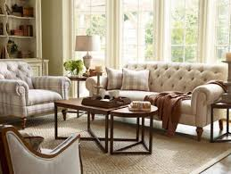 Fabric Chairs Living Room Richmond Traditional Tufted Fabric Sofa Set Chair Living