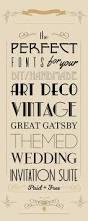 the perfect art deco wedding invitation fonts love u0026 light
