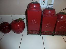 apple canisters for the kitchen 88 best kitchen canisters images on kitchen canisters