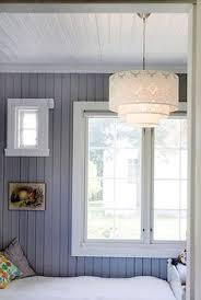 Wood Paneling Walls Mias Interiør Venter Fortsatt Dabbling In Color Pinterest