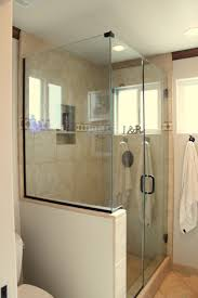 Black Ceramic Floor Tile Toilet Half Wall Oval White Porcelain Freestanding Bathtub With