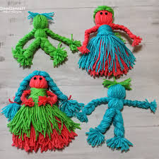 doodlecraft yarn dolls