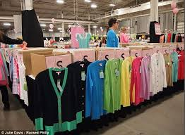 lilly pulitzer warehouse sale mile lines bulging shopping bags and out for the