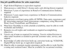 Sales Supervisor Job Description Resume Production Associate Job Description Job Details Production