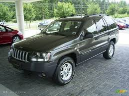 dark gray jeep grand cherokee 2004 onyx green pearl jeep grand cherokee laredo 4x4 16967350