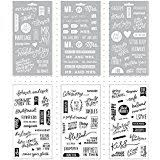 wedding scrapbook stickers k company scrapbook kit flip pack sticker