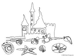 print boy build sand castle seaside coloring size