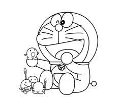doraemon coloring pages printable picture projects