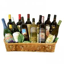 wine basket delivery of wine class gift basket 12 bottles local delivery only