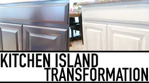 diy painting kitchen island white using chalk paint kitchen