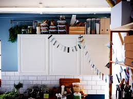 Space Above Kitchen Cabinets Ideas The Ikea Everyday U2014 5 Ideas For That Awkward Space Above Your