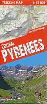 Pyrenees Mountains Map Hrp Haute Randonnée Pyrénéenne