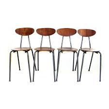 Target Metal Chairs by Mid Century Modern Bentwood Metal Chairs Set Of Four Orchestra