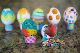 painted eggshells the easy way to bake cake in egg shells for easter lifestyle
