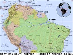 Map Of North America And South America With Countries by Northern South America Public Domain Maps By Pat The Free Open