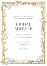 bridal shower invites custom bridal shower invitations paper source