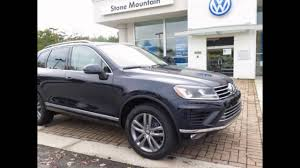 volkswagen touareg blue 2016 volkswagen touareg moonlight blue pearl youtube