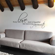 every love story is beautiful wall sticker by wallboss wallboss every love story wall sticker
