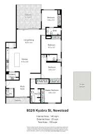 floor plans qld 802 8 kyabra street newstead qld 4006 sold realestateview