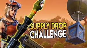 Challenge Drop On Supply Drop Challenge Legendary Rpg Fortnite Battle Royale