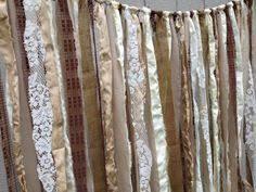 wedding backdrop garland garland wedding fabric lace pearls backdrop floor by ohmycharley
