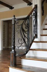Baluster Design Ideas Staircase Wrought Iron Balusters Design Ideas Pictures Remodel