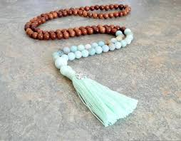 bead necklace with tassel images 108 mala bead mala necklace bead tassel necklace bohemian jpg
