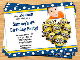 minion birthday party invitations theruntime com