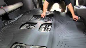 2014 honda accord all weather floor mats review of the weathertech 2nd and 3rd row floor liner on a 2012