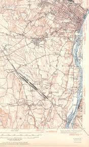 Albany Map Albany Ny Quadrangle