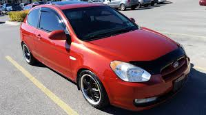 rims for hyundai accent 2007 hyundai accent lowered 2 inches 16 inch rims and a exhaust